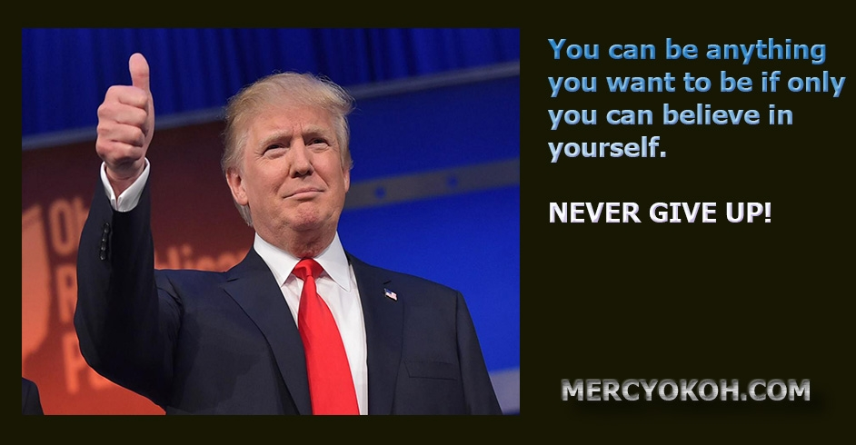 Image result for nevern nvernvern give up trump